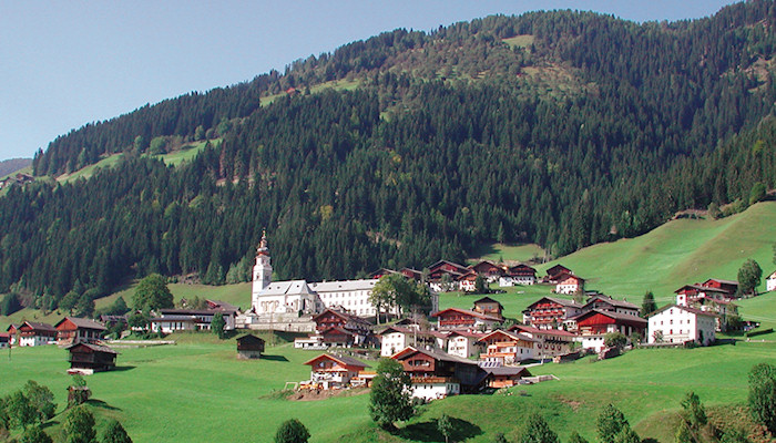 Maria Luggau in the Lesachtal Valley
